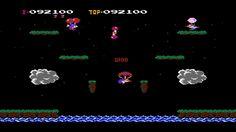 Balloon Fight NES PHASE 6 to 10 Unburstable Balloon and Infinite Lives C...