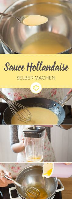 Sauce Hollandaise selber machen: Die 5 besten Methoden - Sole Local My Site Biscuit Sandwich, Chicken Sandwich, Healthy Eating Tips, Healthy Nutrition, Best Smoothie, Recipe For Hollandaise Sauce, Vegetable Drinks, Barbecue Recipes, Vegetarian