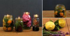 Aprende a hacer una sencilla vela o lámpara de aceite natural para iluminar una habitación de forma mágica.