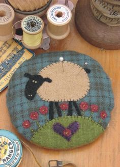Larry Lamb Pincushion Kit F025 - Anni Downs