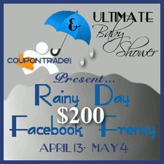 Congratulations Barbara B. for winning the The Rainy Day Facebook Frenzy Giveaway!