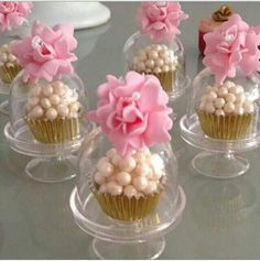50 Great Ideas of Mini Cakes Wedding Favours, Party Favors, Wedding Gifts, Candy Table, Candy Buffet, Mini Cakes, Cupcake Cakes, Mini Cupula, Diy Party