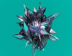 """Check out new work on my @Behance portfolio: """"Spikes & Shards"""" http://be.net/gallery/45439465/Spikes-Shards"""