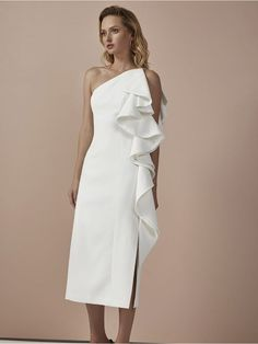 Cameo Collective Two Can Win Dress Ivory