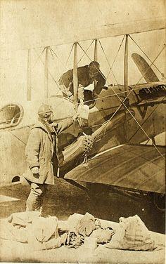 World War One 1st Aero Squadron Mail service in Mexico