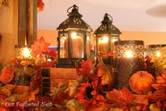 Fall Decor 2013, Its beginning to look a lot like Fall around my home... Im just starting to dig into those decor boxes and bring out some of my favorite treasures! :), Holidays Design