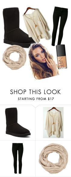 """""""Autumn"""" by charbear132002 ❤ liked on Polyvore featuring UGG Australia, J Brand, maurices and NARS Cosmetics"""