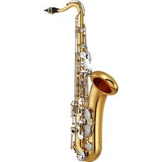 YTS26 Tenor Saxophone. Perfect for the school hire fleet, it is designed for the first year player. Made to be affordable it features nickel silver key work, sturdy neck receiver and a durable, stackable hard case. Without high F#.