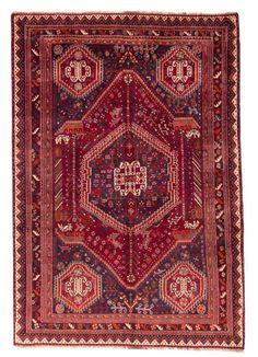 Qashqai  Teppich  Modern Handgeknüpft rug  263 x 162 cm orient mattan