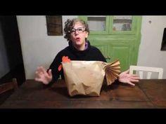 (1) fare confezioni regalo creative ,una bella gallinella - YouTube