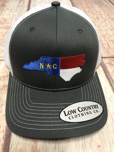 Custom Trucker Hat Richardson Horse Rearing Embroidery Animal Name Cotton Snaps