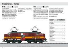 Marklin catalog Modelli esportazione 2012  NS 1200