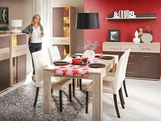 Jadalnia: Meble Valmaran  #table #dining