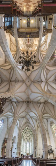Breathtaking panoramic pictures of the exquisite ceilings of churches across the globe   Read more: http://www.dailymail.co.uk/news/article-2513848/Breathtaking-panoramic-pictures-exquisite-church-ceilings.html#ixzz2nk5us8IX