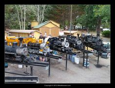 Long Island Live Steamers : Miniature trains you can ride ...