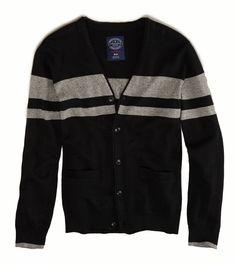 stripes. cardigan. men. fall fashion.