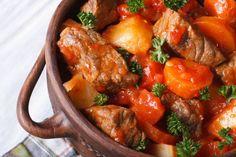 Moσχάρι στη γάστρα με λαχανικά | InfoKids