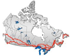 4. DRIVE ACROSS Trans Canada Highway
