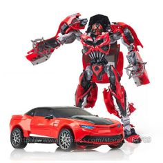 Plastic ABS + Alloy Transformation Action Figure Toys
