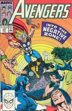 Avengers # 309 by Paul Ryan & Tom Palmer