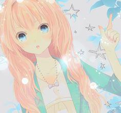 Anime girl I really like her hair