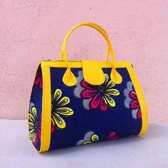 1a9bedb80f3f African Fabric Handmade Bag Ankara Design by EJAfricanProducts African  Inspired Clothing
