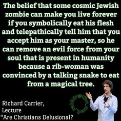 Richard Carrier | Cosmic Jewish Zombie | Philosophical Atheism