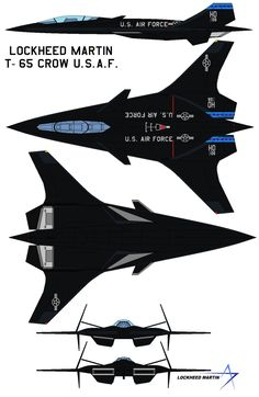 Lockheed Martin T-65 Crow The T-X program has been established to enable the United States Air Force to buy a new two-seat jet trainer for fast-jet training to replace the Northrop T-38 Talon; the ...