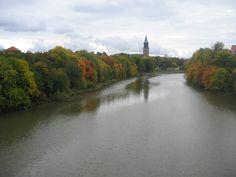 """""""Turku Autumn Ruska"""" by Ville Säävuori Finland Old City, Helsinki, Finland, River, Outdoor, Autumn, City, Old Town, Outdoors"""