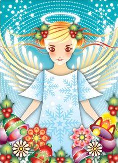 catalina estrada art | Catalina Estrada Christmas Cards | Bluebadgerbaby's Blog