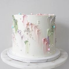 Pretty Cakes, Cute Cakes, Beautiful Cakes, Amazing Cakes, Cake Decorating Designs, Cake Decorating Techniques, Cookie Decorating, Cake Icing, Cupcake Cakes