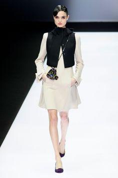Blanca Padilla for Emporio Armani - Fall/Winter 2016 - Milan Fashion Week.