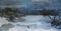 'Il castigo delle lussuriose' by Giovanni Segantini (1858-1899, Austria) (This would cool you off)