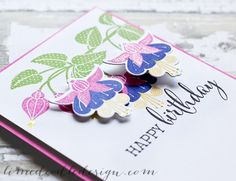 Debby Hughes - Lime Doodle Design - Clearly Besotted Stamps March release