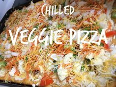 Chilled Veggie Pizza
