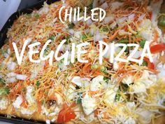 Chilled Veggie Pizza