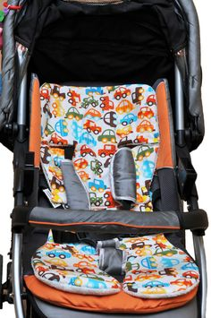 Universal stroller and car seat liner by Engls on Etsy