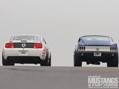 1968 Ford Mustang 428 Cobra Jet And 2008 Ford Mustang 5.4L Cobra Jet ...... I'll take the '68 please :)