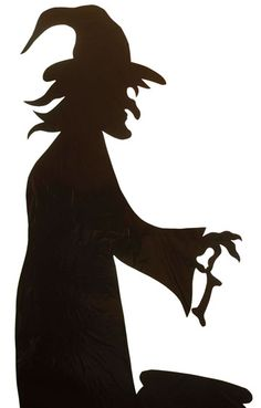 Shadowy silhouettes of bats and witches having a cackling good time will cast an aura of black magic on the festivities./