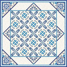 2017: Quilt BOM stilll to be named from Morning Glory Designs