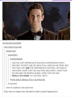I will seduce you with my awkwardness doctor who