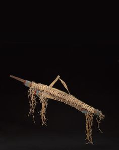 A Sioux beaded bowcase and quiver