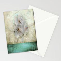 Cherry Blossom #Stationery #Cards by ARTsKRATCHES | Society6