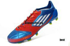 Adidas F50 Adizero 2012 micoach TRX FG Leather Football Boots - High Energy Blue Electricity