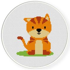 FREE Cat Cross Stitch Pattern