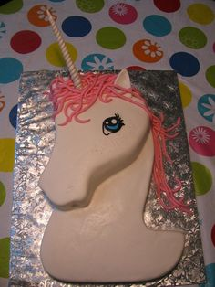 unicorn cake.....possibly for Noelle's birthday