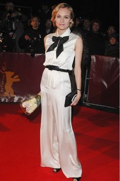 Diane Kruger in Chanel at the 2009 Berlin Film Festival.