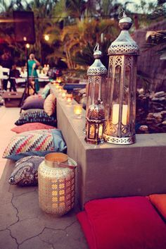boho roof terrace - Google Search