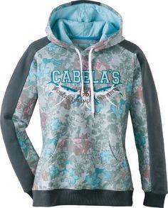 Cabela's Women's Print Varsity Hoodie