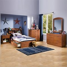 South Shore South Shore Logik Sunny Pine Bedroom Collection - Furniture & Mattresses - Bedroom Furniture - Bedroom Sets & Collections